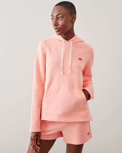 Roots-Sweats Sweatsuit Sets-Camp Pullover Hoody-Candlelight Peach-A