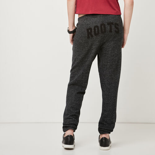 Roots-Women Bottoms-Black Pepper Boyfriend Sweatpants-Black Pepper-A