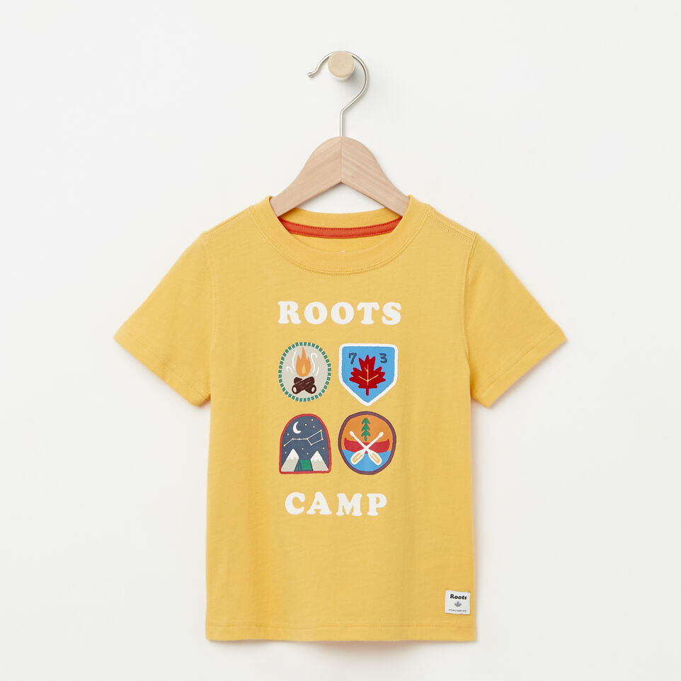 Roots-Toddler Camp Canada T-shirt