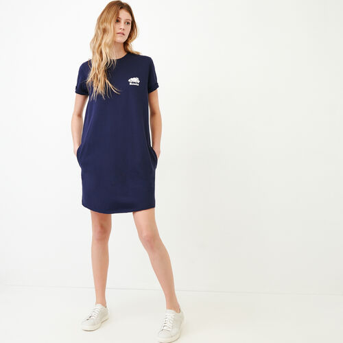 Roots-New For March Sweats-Edith Cuffed Dress-Eclipse-A