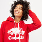 Roots-Women Clothing-Womens Cooper Canada Hoody-Sage Red-E