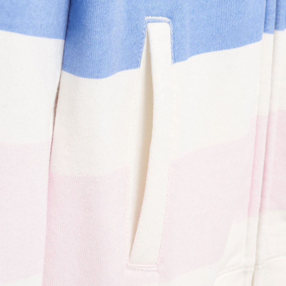 Roots-Kids Our Favourite New Arrivals-Girls Ombre Stripe Full Zip Hoody-Ivory-E