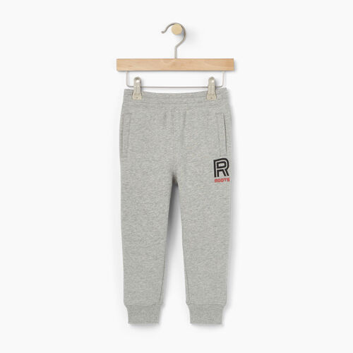 Roots-Winter Sale Toddler-Toddler Sportsmas Fleece Pant-Grey Mix-A