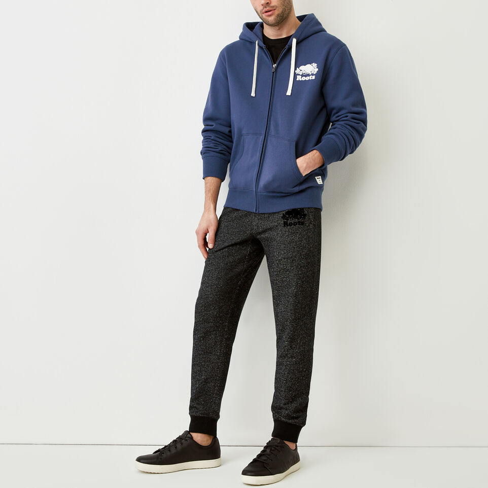Roots-Men Our Favourite New Arrivals-Original Full Zip Hoody-Sargasso Sea-B