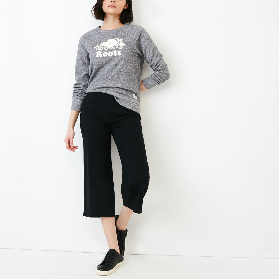 Roots-Women Our Favourite New Arrivals-Melange Terry Sweatpant-undefined-B