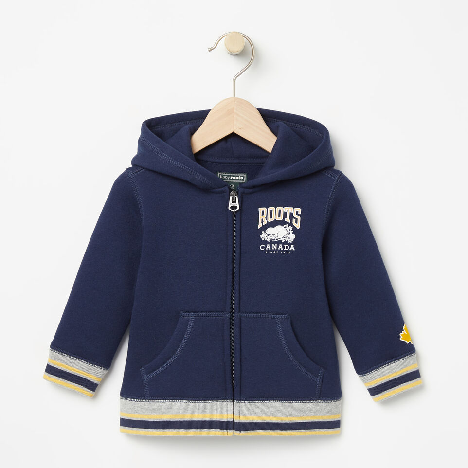 Roots-Baby Sideline Full Zip Hoody