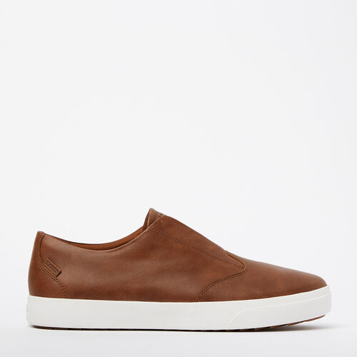 Roots-Footwear Categories-Mens Valley Slip On-Natural-A
