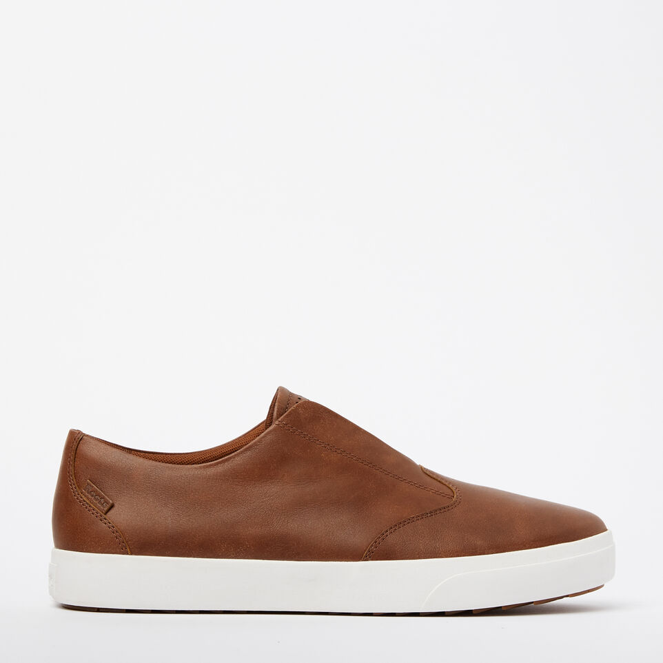 Roots-Sale Footwear-Mens Valley Slip On-Natural-A