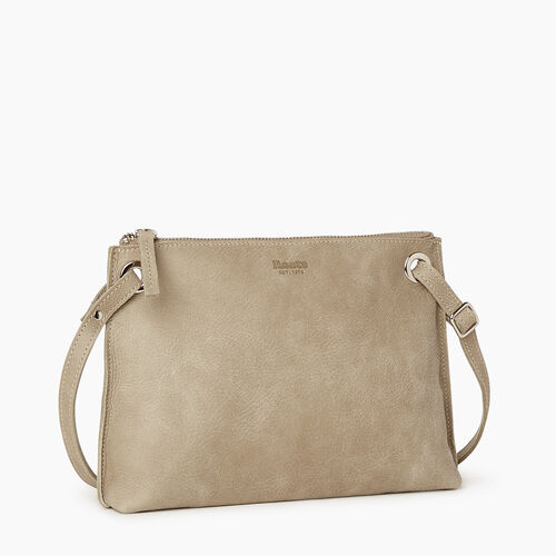 Roots-Leather Crossbody-Edie Bag-Mint-A