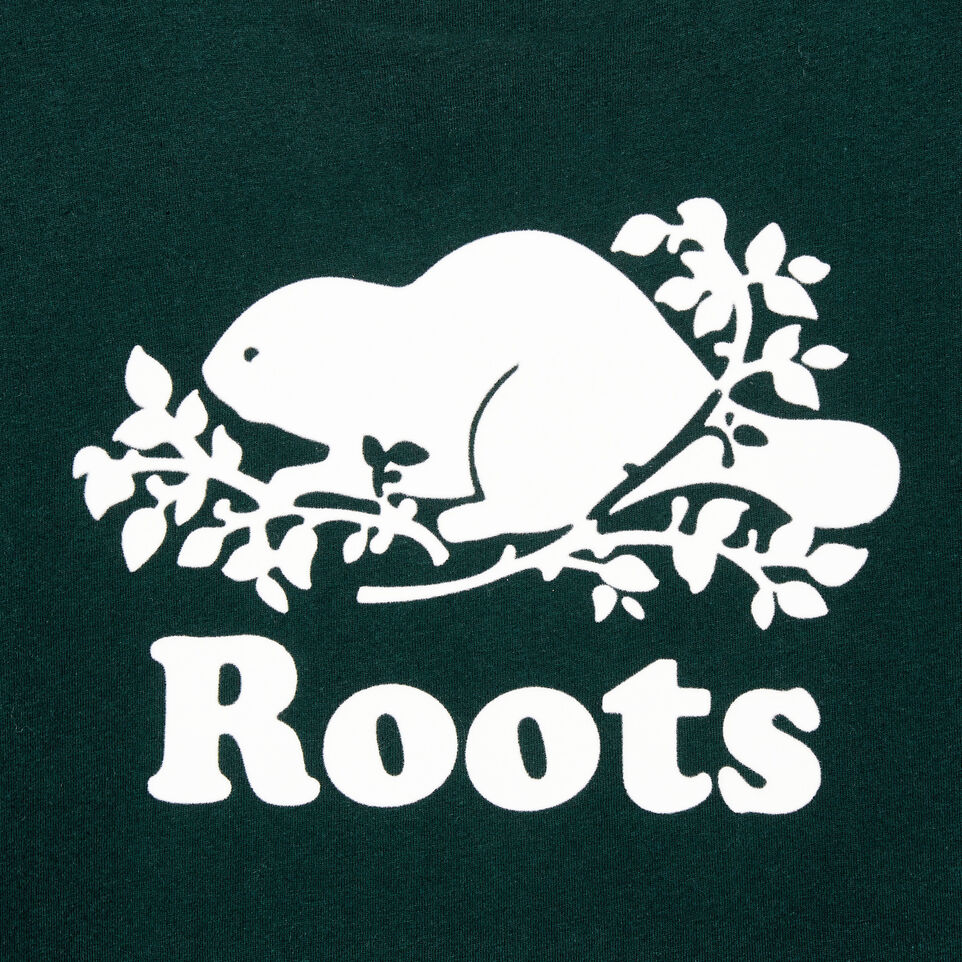 Roots-New For January Women-Womens Cooper Beaver T-shirt-Varsity Green-D
