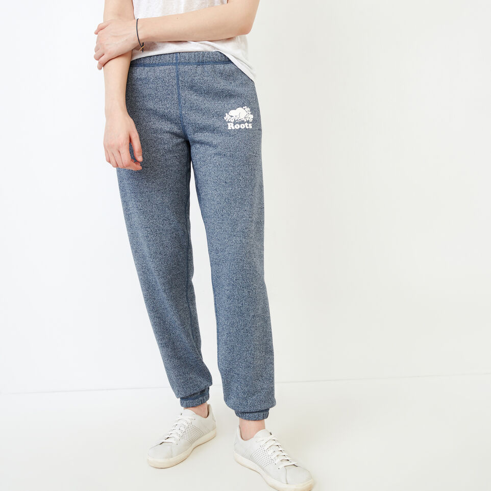 Roots-Women Our Favourite New Arrivals-Original Sweatpant-Navy Blazer Pepper-A