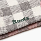 Roots-New For December Today Only: 40% Off Park Plaid Collection-Park Plaid Ankle Sock 2 Pack-Pink Mix-D