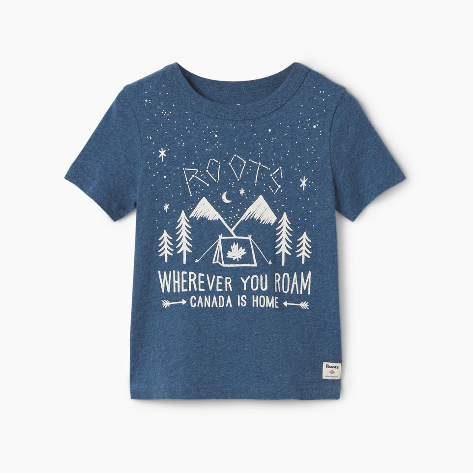 Roots-undefined-T-shirt Plein air Roots pour tout-petits-undefined-A