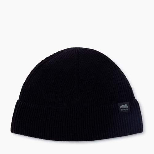 Roots-New For November Journey Collection-Journey Watchcap-Black-A
