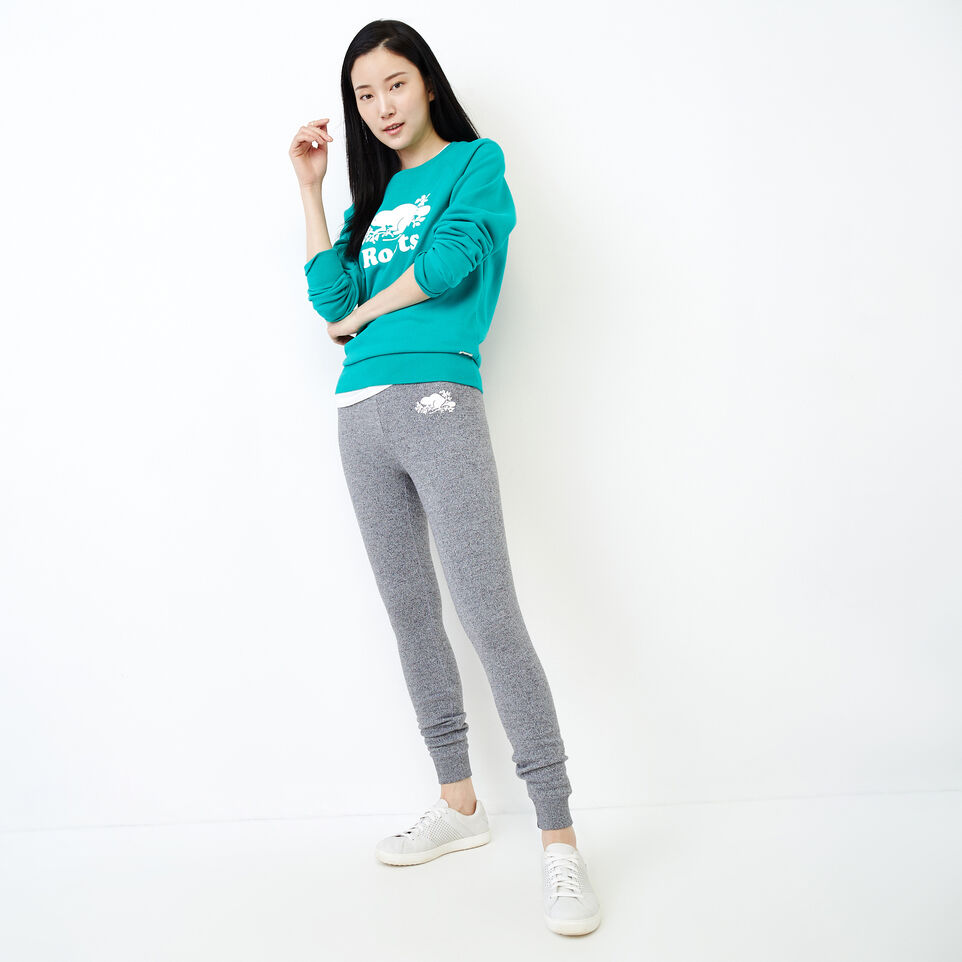 Roots-Women Our Favourite New Arrivals-Original Crew Sweatshirt-Dynasty Turquoise-B