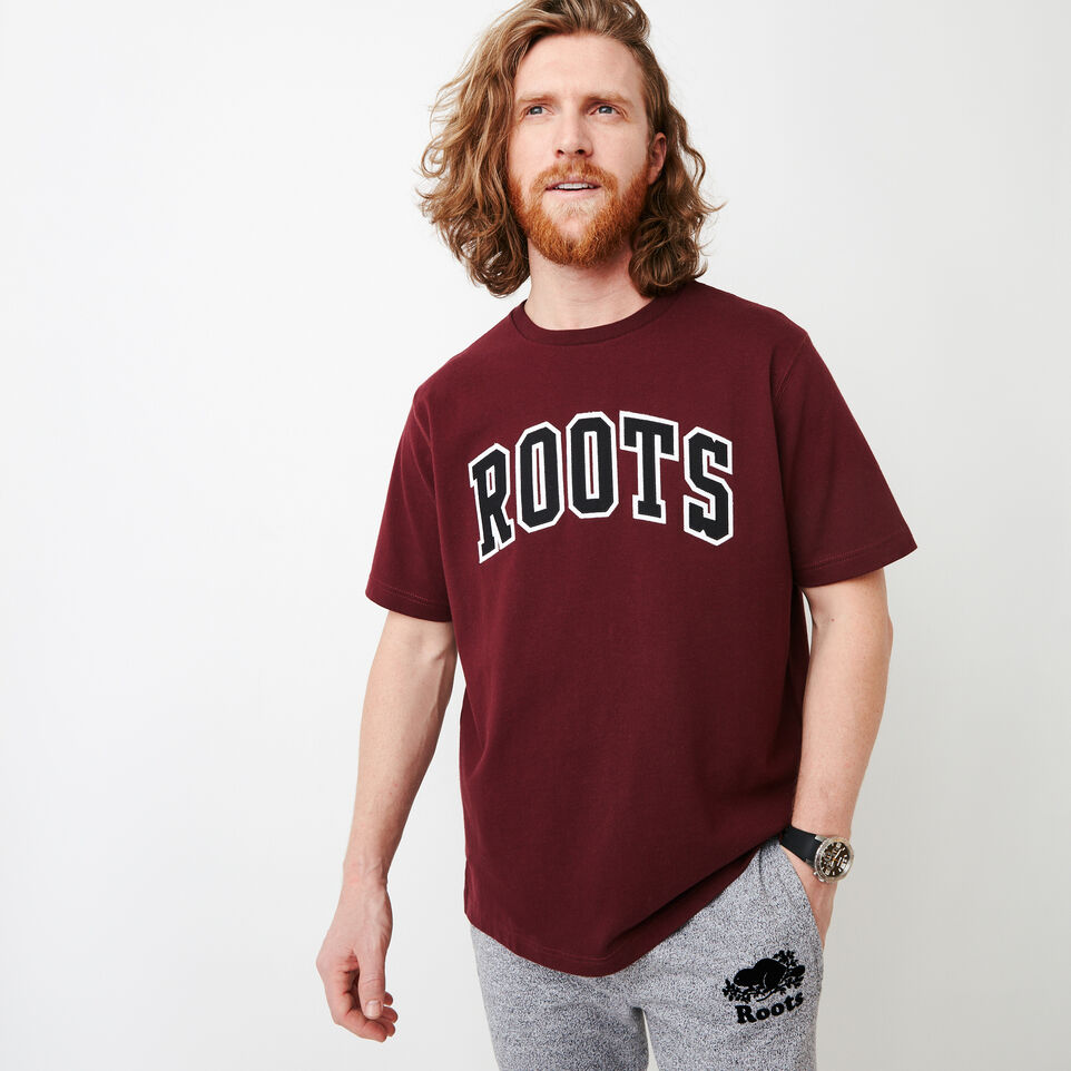 Roots-undefined-10oz Heavy Jersey T-shirt-undefined-A