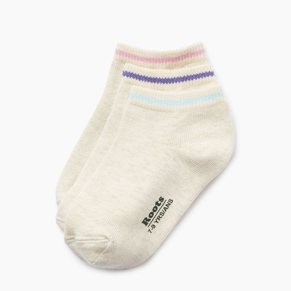 Roots-undefined-Kids Cabin Ped Sock 3 Pack-undefined-B