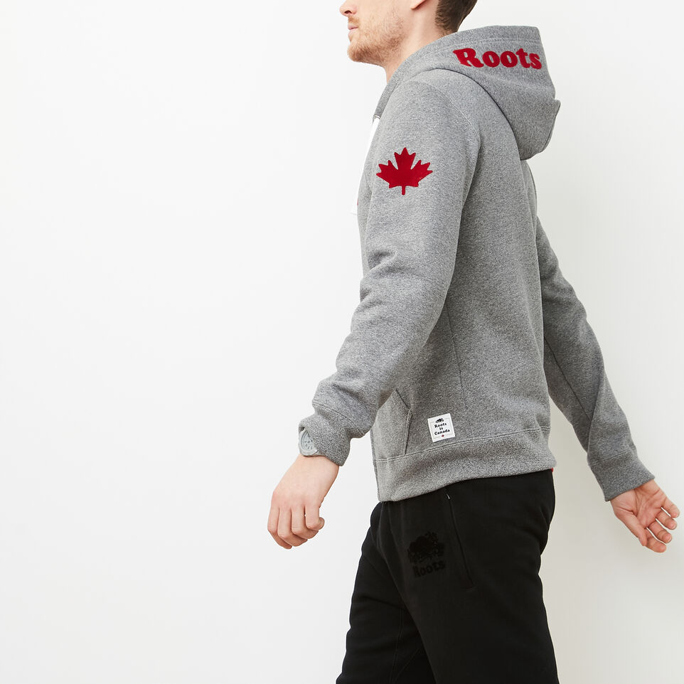 Roots-undefined-Mens Cooper Canada Full Zip Hoody-undefined-B