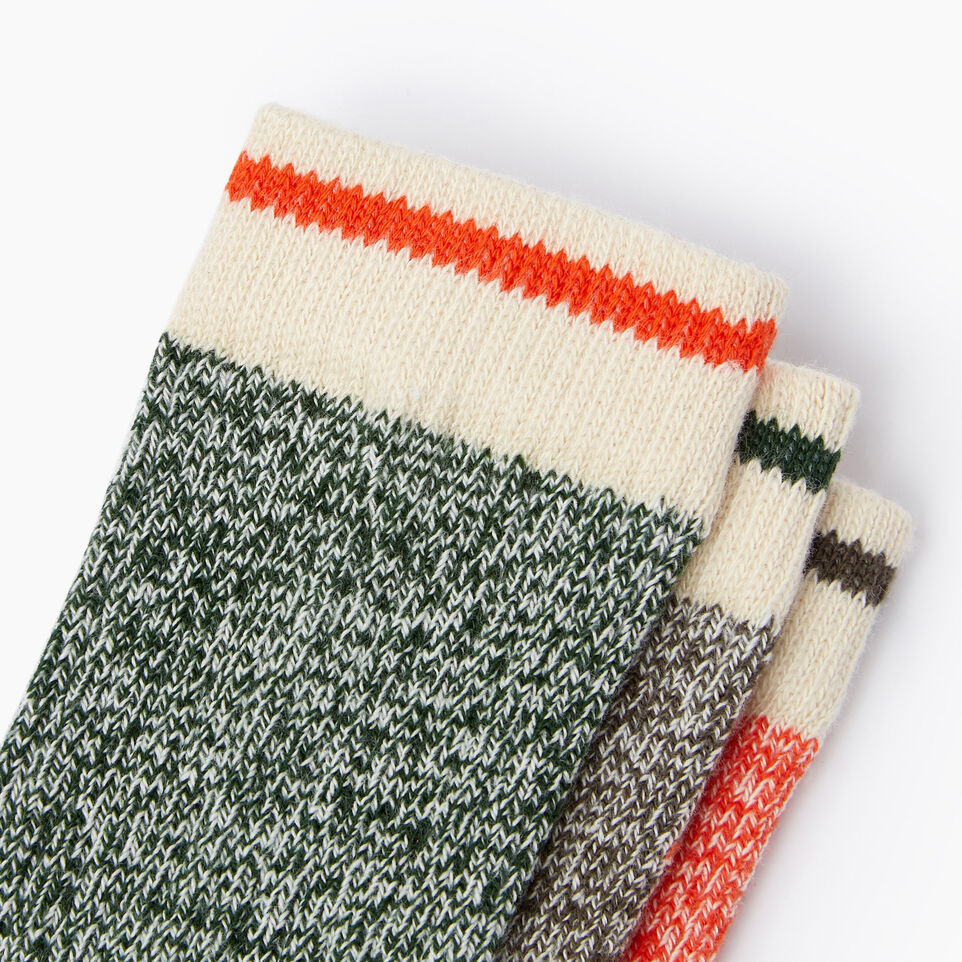 Roots-Sale Kids-Toddler Cabin Sock 3 Pack-Fatigue-D