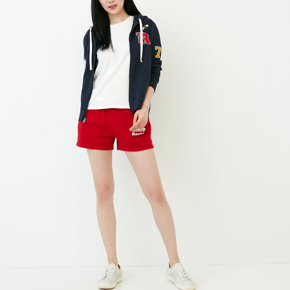 Roots-Women Our Favourite New Arrivals-Patches Full Zip Hoody-Navy Blazer-B