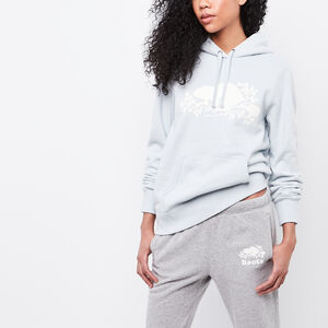 Roots-Women Tops-Roots Cooper Kanga Hoody-Chambray Blue-A