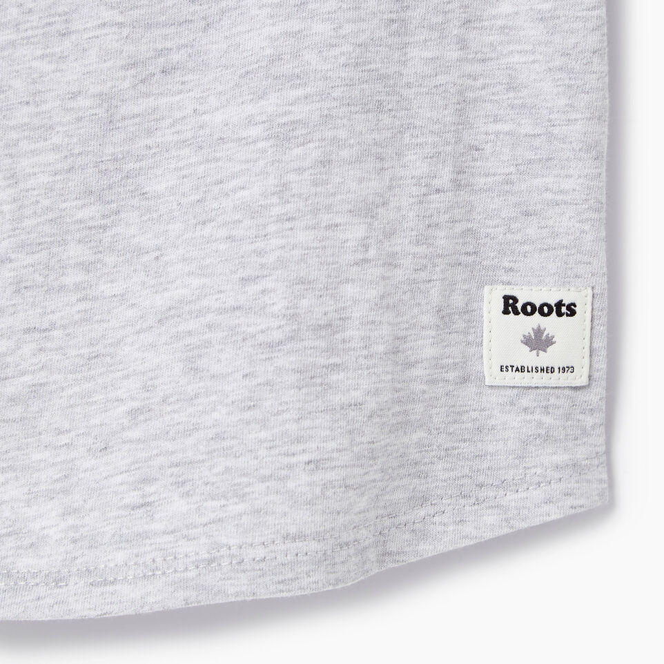 Roots-Kids Our Favourite New Arrivals-Baby Splatter Raglan T-shirt-Snowy Ice Mix-C