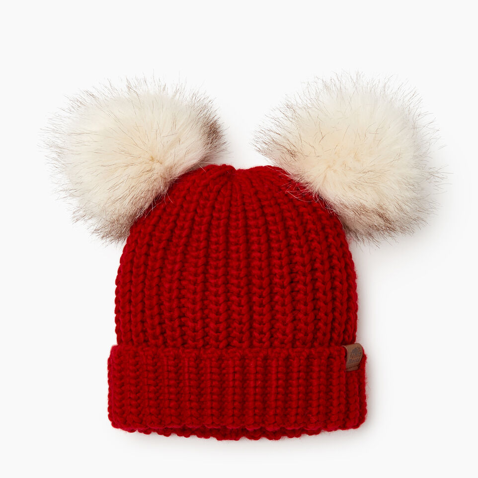 Roots-Sale Kids-Toddler Girl Olivia Toque-Cabin Red-A