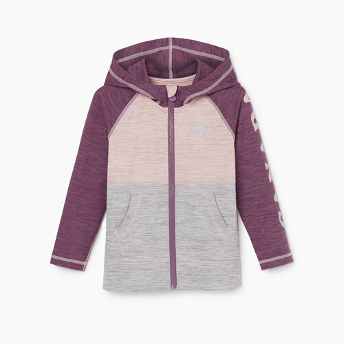 Roots-Sale Kids-Toddler Lola Active Full Zip Hoody-Grape Jam-A