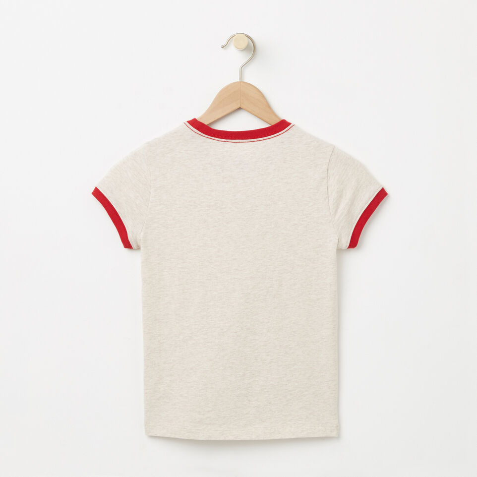 Roots-undefined-Filles T-shirt Collier Contrast Érable Canada-undefined-B