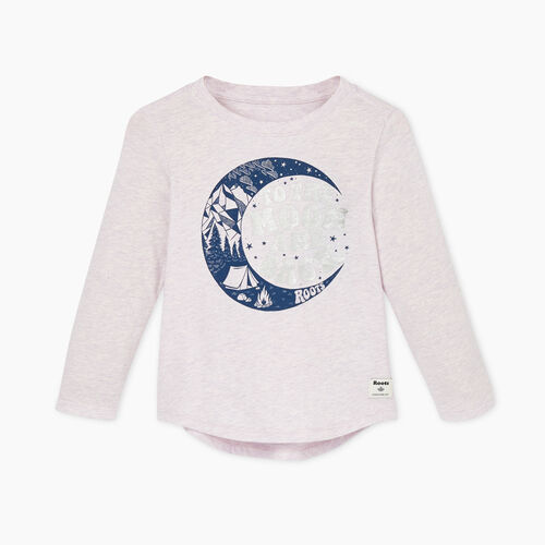 Roots-Kids Toddler Girls-Toddler Roots Outdoors T-shirt-Purple Heather-A