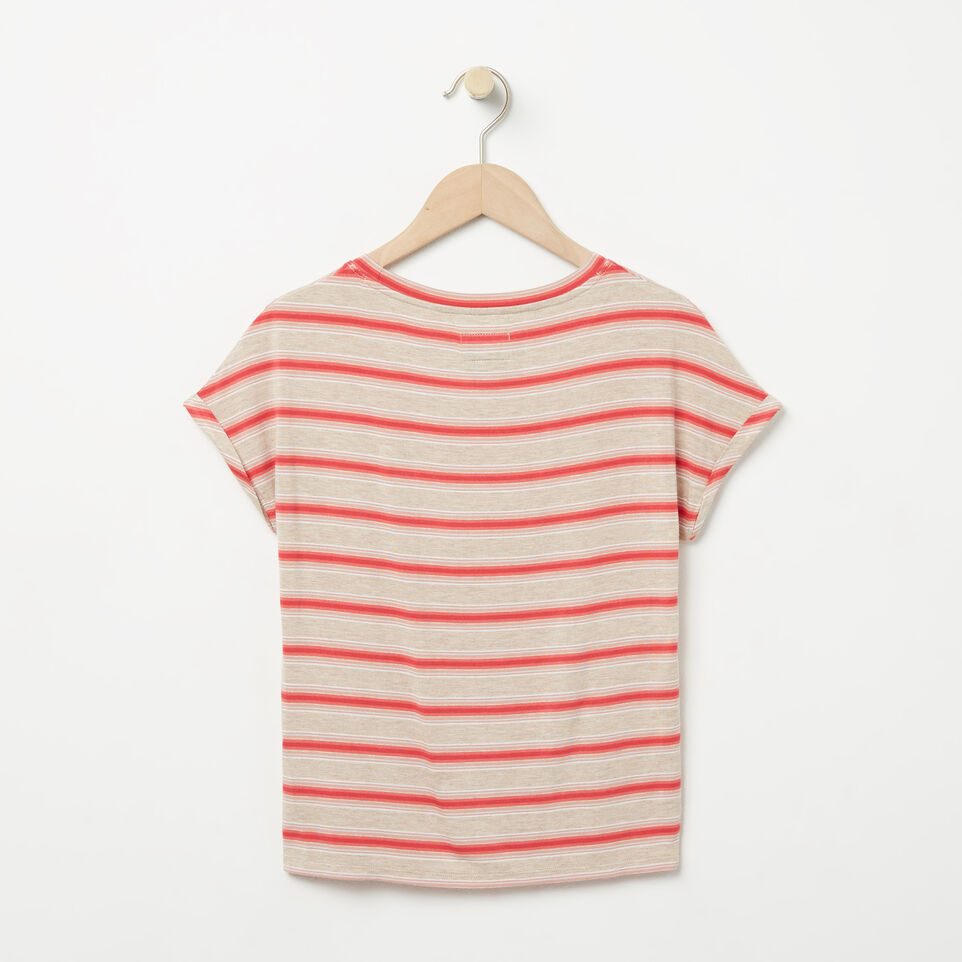 Roots-undefined-Girls Stripe Pocket Top-undefined-B