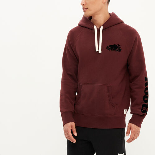 Roots-New For August Men-Remix Kanga Hoody-Crimson-A