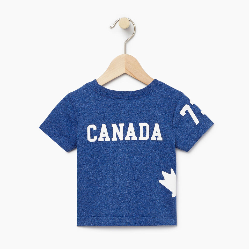 Roots-Kids New Arrivals-Baby Bedford T-shirt-Active Blue Mix-B