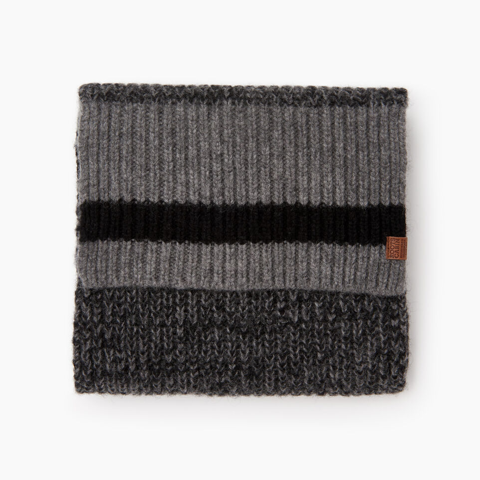 Roots-Men Categories-Roots Cabin Scarf-Black Mix-B