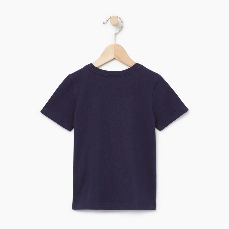 Roots-Kids Our Favourite New Arrivals-Toddler Roots Patches T-shirt-Navy Blazer-B