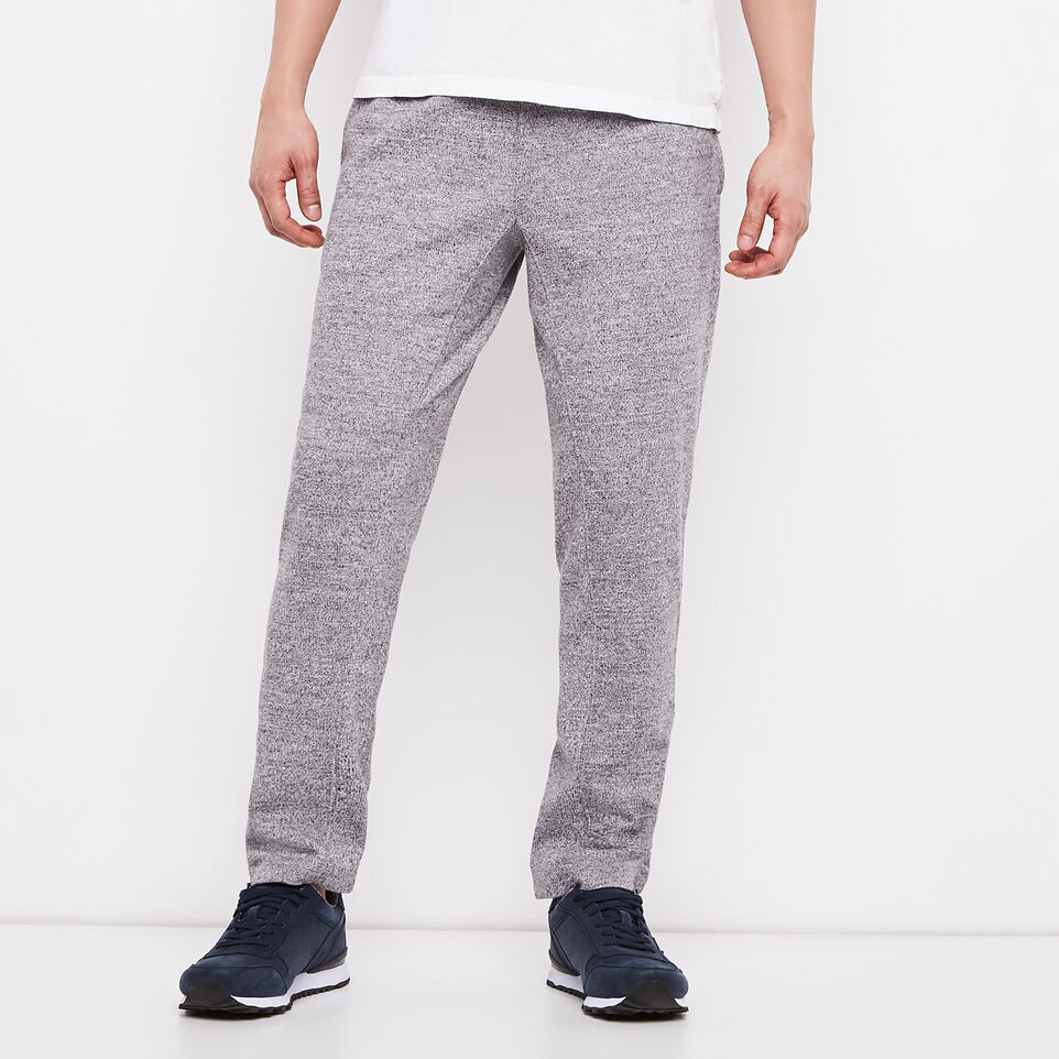 Roots-Salt and Pepper Slim Cropped Pant