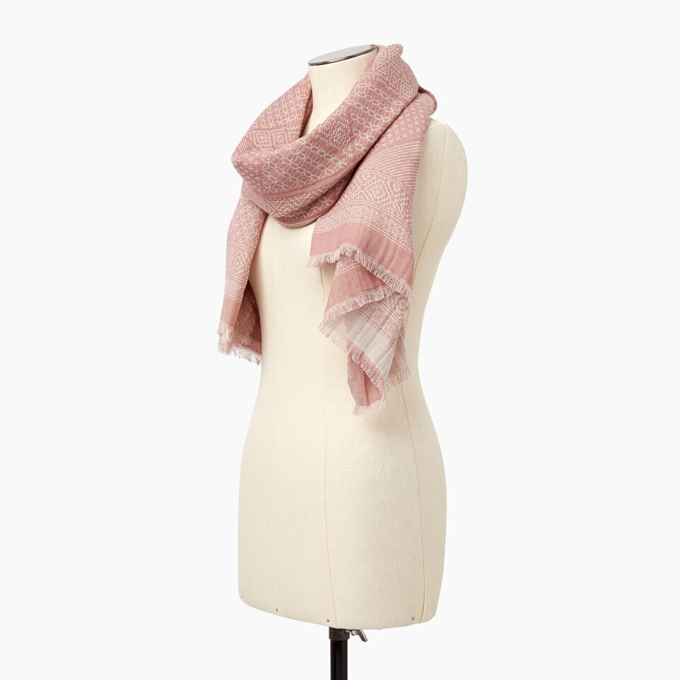 Roots-Women Our Favourite New Arrivals-Saguenay Scarf-Woodrose-C