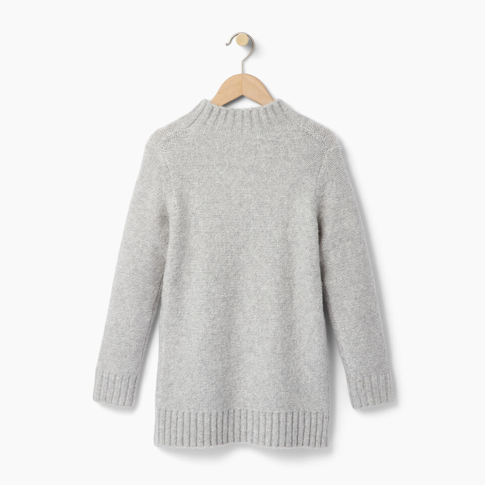 Roots-undefined-Girls Cable Knit Tunic Sweater-undefined-B