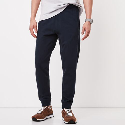 Roots-Winter Sale Bottoms-13 Oz Jersey Pant-Cascade Blue-A