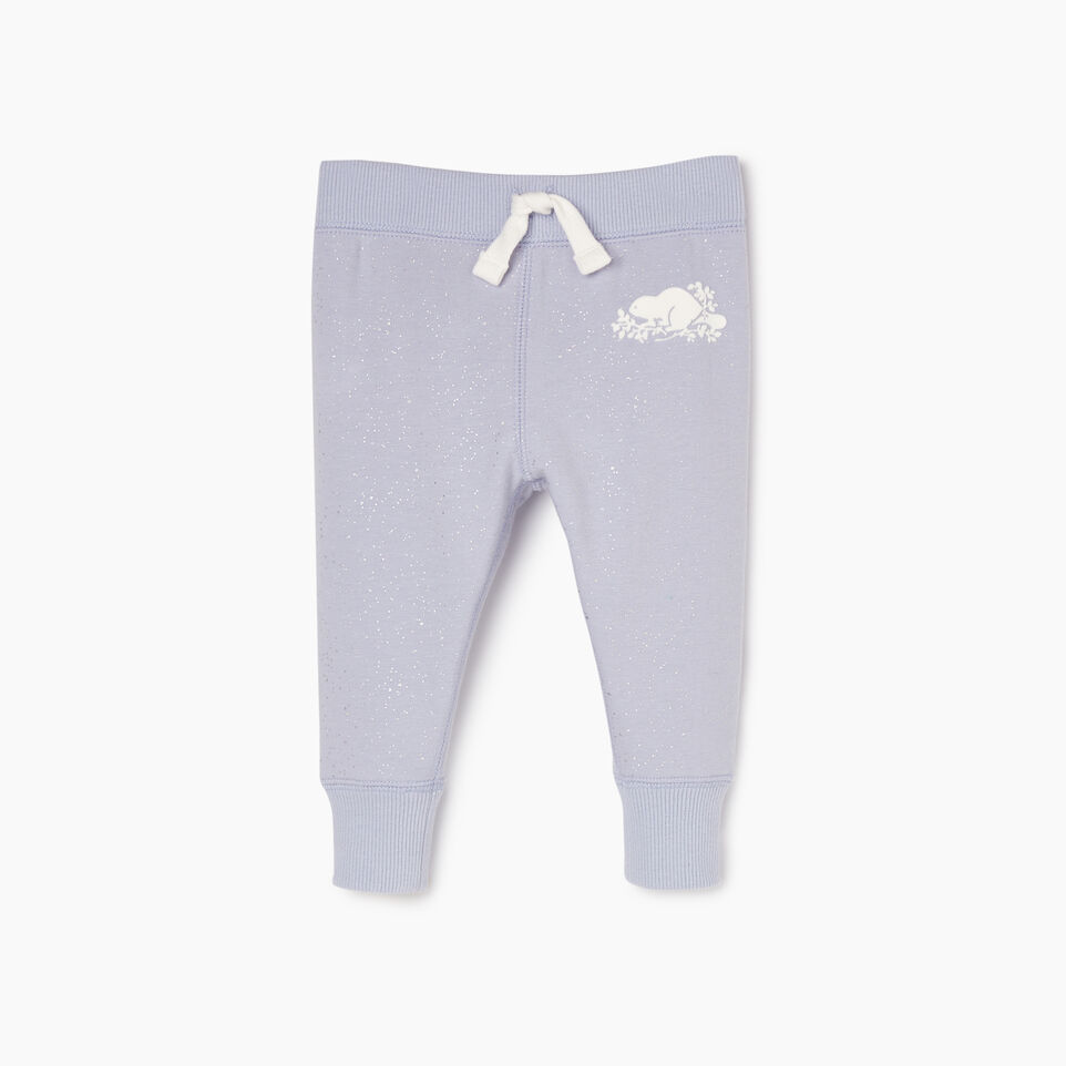 Roots-undefined-Baby Sparkle Cozy Sweatpant-undefined-A