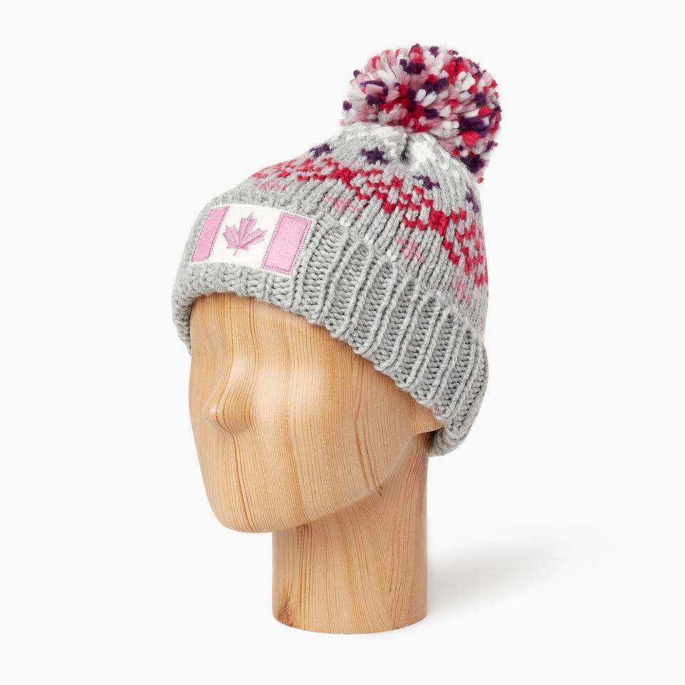 Roots-undefined-Kids Retro Fair Isle Toque-undefined-B