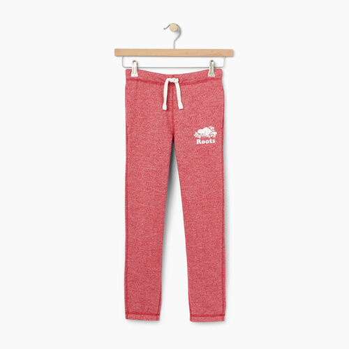 Roots-Winter Sale Kids-Girls Original Roots Sweatpant-Cabin Red Pepper-A
