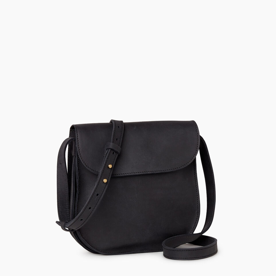 Roots-Leather  Handcrafted By Us Our Favourite New Arrivals-Lambert Bag-Jet Black-A
