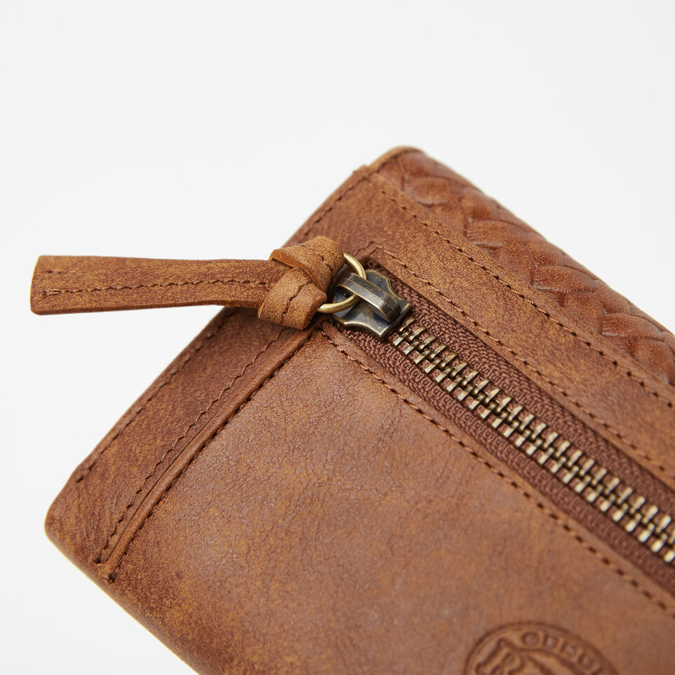 Roots-undefined-Medium Trifold Clutch Woven-undefined-E