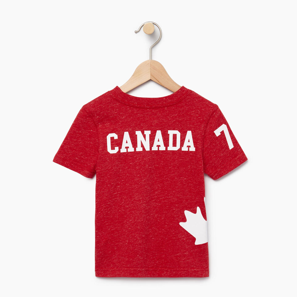Roots-Kids New Arrivals-Toddler Bedford T-shirt-Sage Red Mix-B
