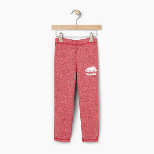 Roots-Clearance Kids-Toddler Original Roots Sweatpant-Cabin Red Pepper-A
