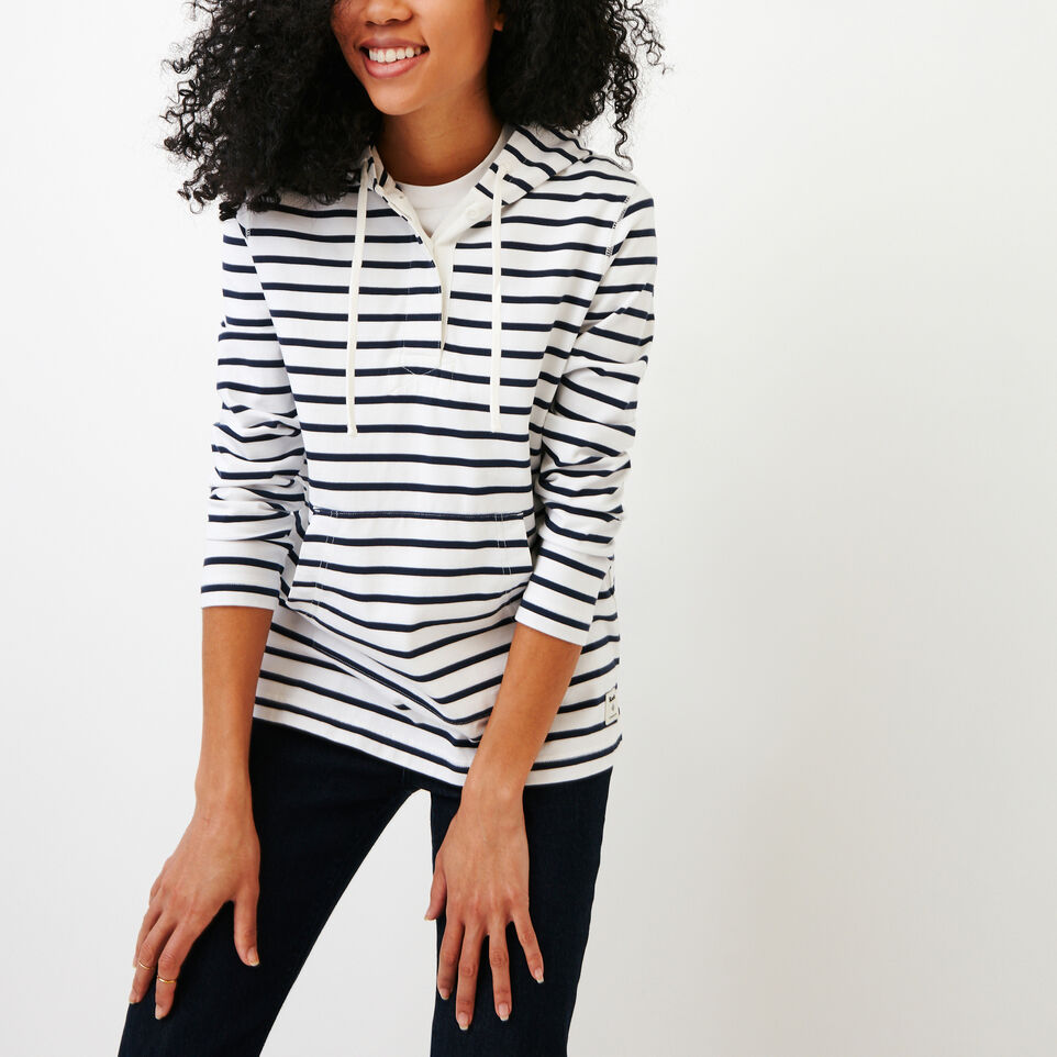 Roots-Women Our Favourite New Arrivals-Glenbow Hoody-White-A