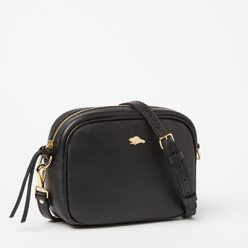 Roots-Winter Sale Leather-Lorna Bag Box-Black-A
