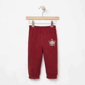 Roots-Kids Sweats-Baby Heritage Canada Original Sweatpant-Sage Red Pepper-A