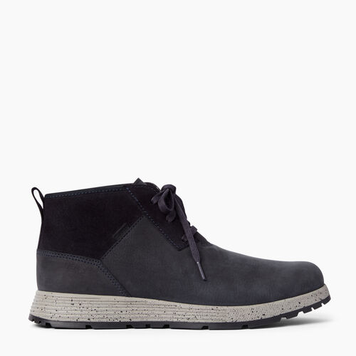 Roots-Clearance Footwear-Mens Granville Boot-Black-A